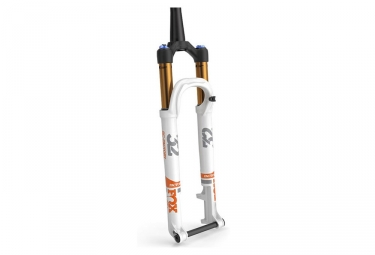 fourche fox racing shox 32 float sc factory fit4 29 kabolt 15mm 2017 blanc
