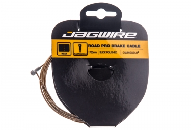 cable de frein route jagwire pro 1 5 x 1700mm campagnolo