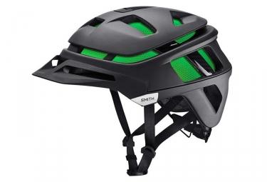 smith casque forefront noir mat vert neon