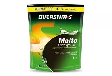 boisson energetique overstims malto antioxydant menthe 2kg