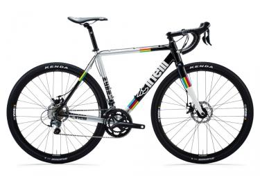 gravel bike cinelli zydeco shimano tiagra 10v noir gris multicolor