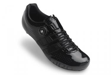 paire de chaussures route giro factor techlace noir