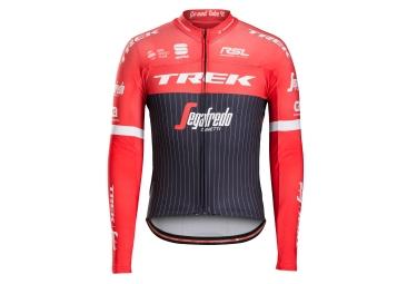 maillot manches longues trek sportful trek segafredo noir rouge