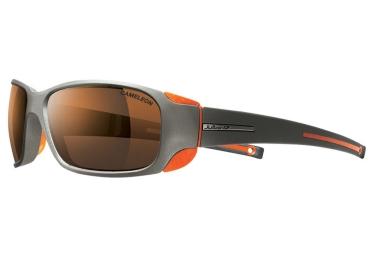 lunettes julbo montebianco titane cameleon gris orange