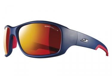 lunettes julbo stunt spectron 3cf bleu rouge