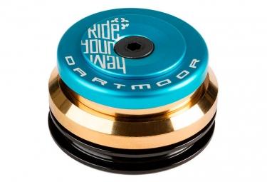 jeu de direction dartmoor blink integre conique 1 1 8 1 5 bleu cone reducteur 1 1 8
