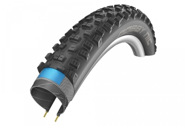 pneu schwalbe nobby nic 26 tubetype souple snakeskin dual compound double defense e