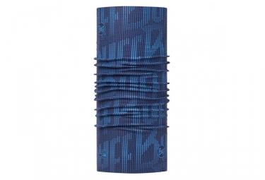 tour de cou buff high uv deep logo bleu marine