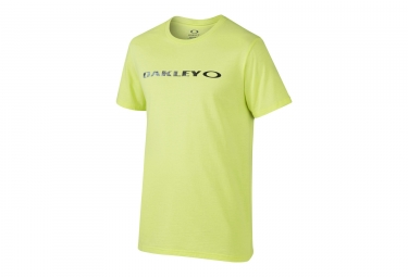 t shirt oakley o original jaune