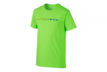 t shirt oakley o original vert