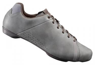 paire de chaussures route shimano rt400 gris