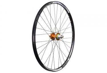 roue arriere hope tech enduro pro 4 27 5 12x142mm corps sram xd orange