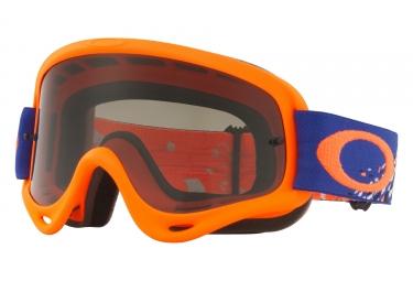 masque oakley o frame mx orange bleu gris oo7029 40
