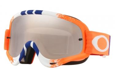 masque oakley o frame mx orange bleu black iridium oo7029 42