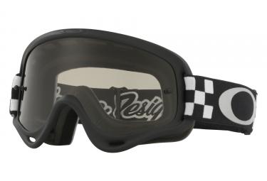masque oakley xs o frame mx tld checker noir blanc gris fonce oo7030 14