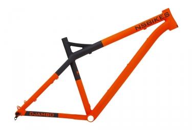 kit cadre ns bikes 2016 eccentric djambo 27 5 orange