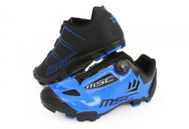 chaussures vtt msc aero xc bleu
