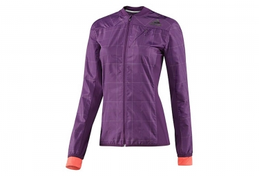 adidas veste smt femme violet