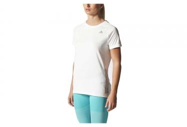 adidas t shirt supernova femme blanc