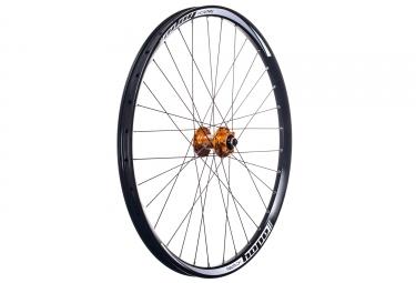 hope roue avant dh pro 4 27 5 20x110mm orange