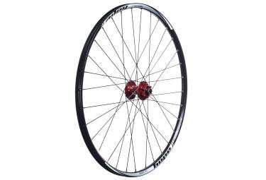 hope roue avant tech xc pro 4 27 5 15 9x100 mm rouge