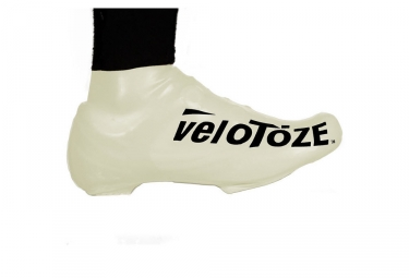 velotoze couvres chaussures bas s wht 003 latex blanc