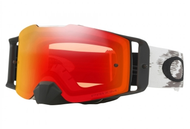 masque oakley front line mx blanc prizm mx rouge oo7087 07