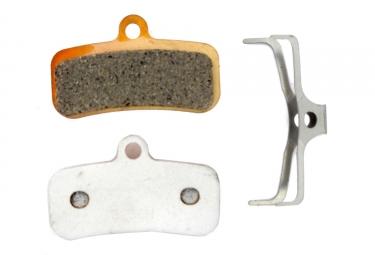 paire de plaquettes brake authority pour shimano saint m810 m820 zee m640