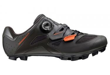 paire de chaussures vtt mavic crossmax elite 2017 marron noir orange