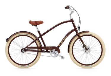electra 2016 beach cruiser townie balloon 3i eq marron