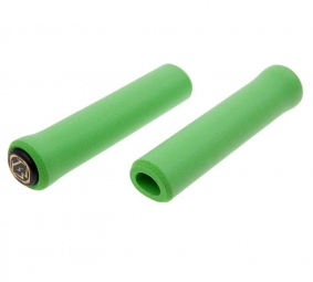 esi paire de grips chunky silicone vert 32mm