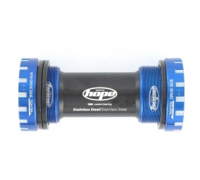 hope boitier roulements externes inox 68 73mm bleu