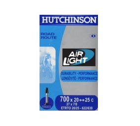 hutchinson chambre a air route airlight 700x20 25 valve 60 mm