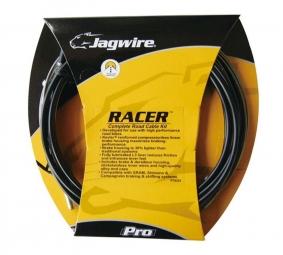 jagwire kit complet racer route derailleurs freins noir