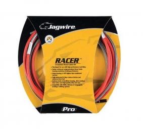 jagwire kit complet racer route derailleurs freins rouge