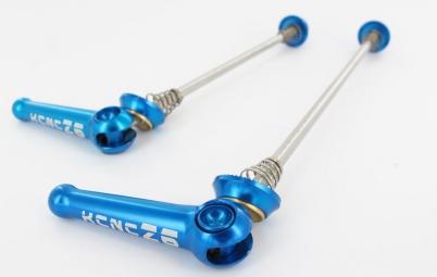 kcnc blocages de roues z6 vtt bleu
