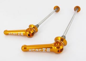 kcnc blocages de roues z6 vtt or