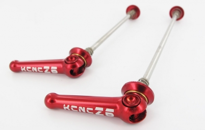 kcnc blocages de roues z6 vtt rouge