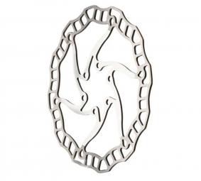 ashima disque aro 08 185mm blanc