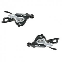shimano paire shifters m980 i spec b xtr 10 vitesses av ar fixation levier double tr