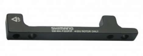 shimano adaptateur frein 203 mm pm