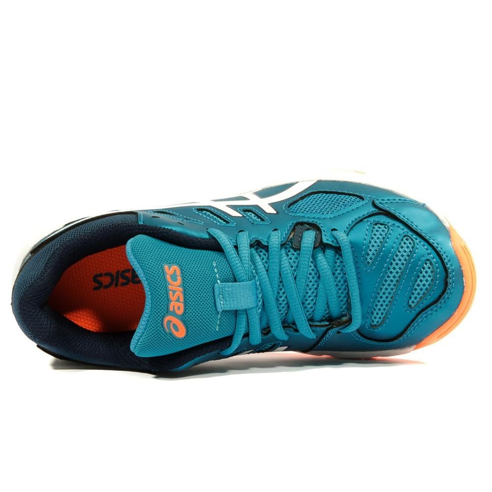 chaussure volley asics bleu