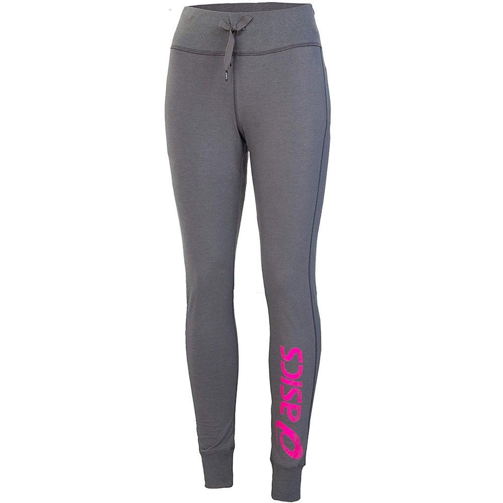 0c23bc65e00 Gym Pant Femme Pantalon Gris Asics