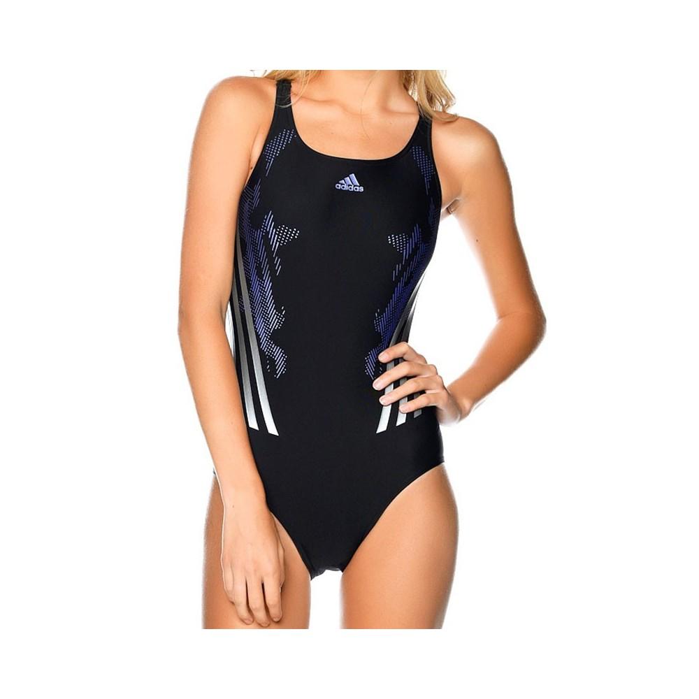 MDB TECH 1PC BLK Maillot de bain Natation Femme Adidas