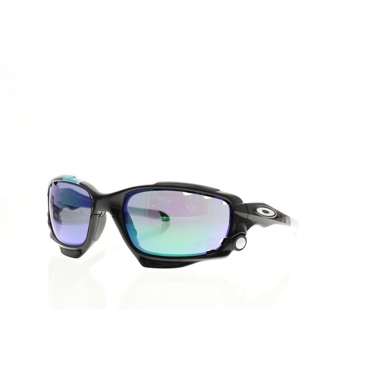 Iridium Soleil Oakley Jacket Lunette De Polished Black Racing Jade F1TlKJc