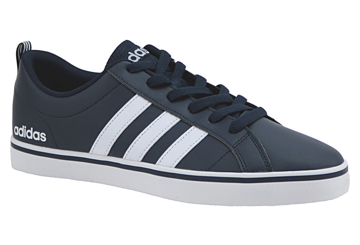 low cost new photos reasonably priced Adidas VS Pace B74493 Homme chaussures de sport Bleu foncé