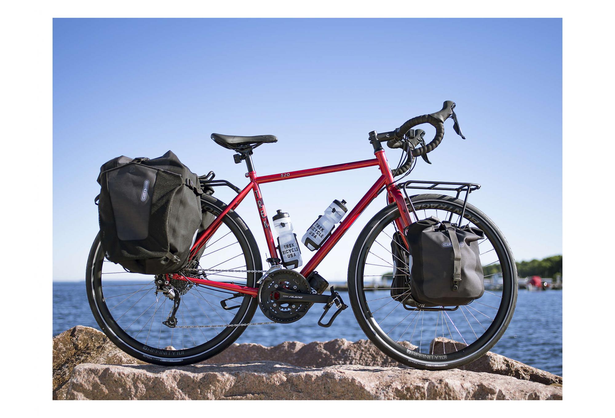 Trek 520 Travel Bike Shimano Alivio/Sora 9S Diablo Red ...