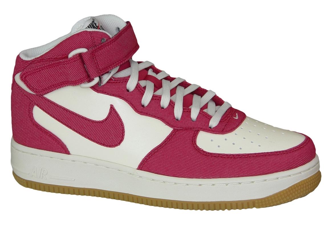 nouveau produit fb445 91668 Nike Air Force 1 Mid 315123-607 Rouge
