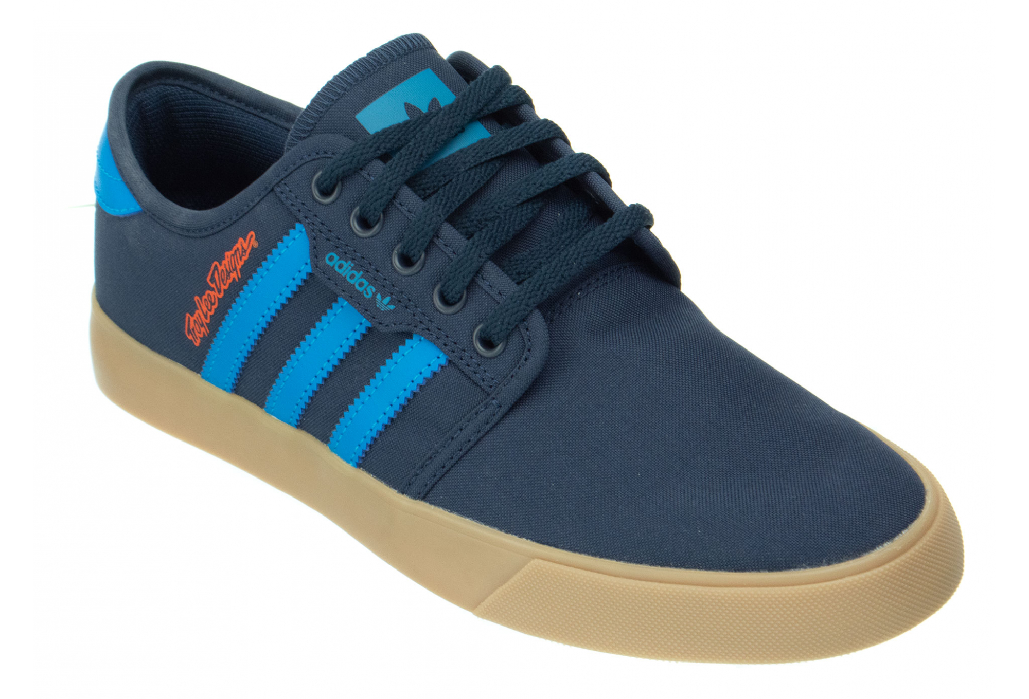 Troy Lee Designs Seeley LTD Adidas Team Shoes Navy Blue
