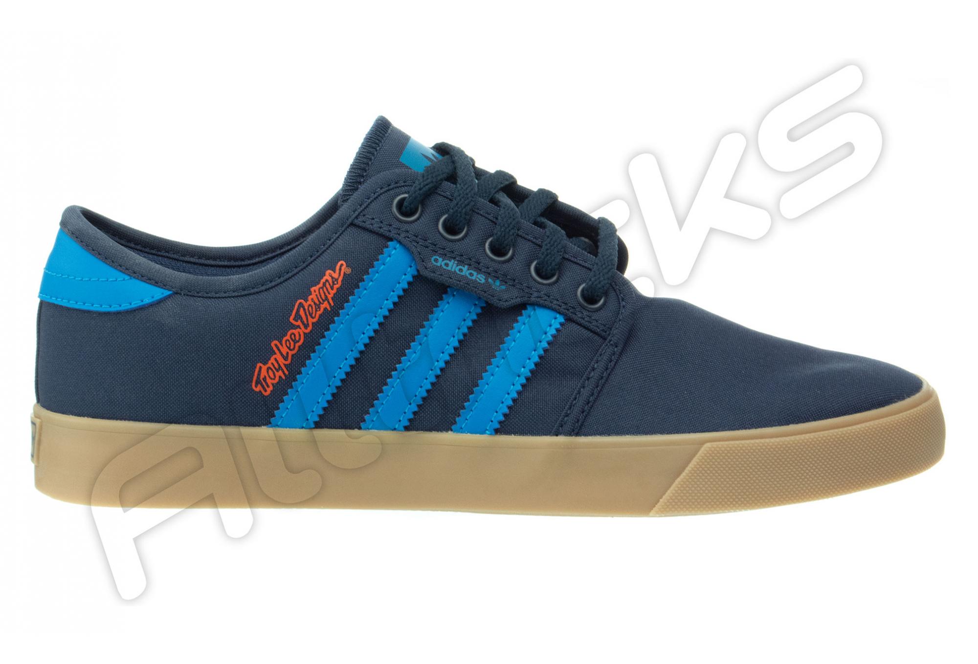 Chaussures Troy Lee Designs Seeley LTD Adidas Team Bleu Marine